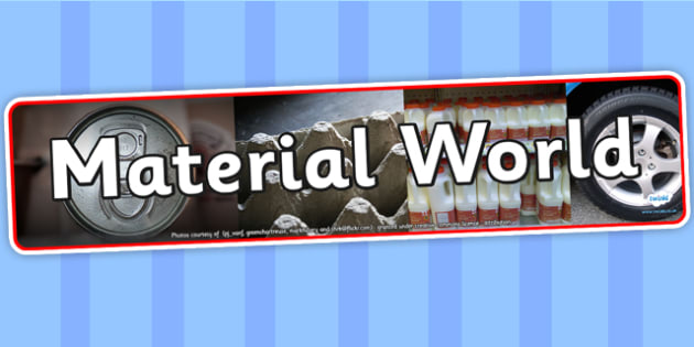 Material World Photo Display Banner - material world, IPC display banner, IPC, material world display banner, IPC display, material world banner
