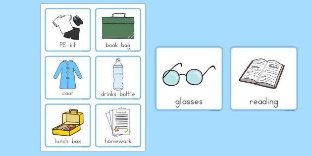 Morning Organisation Cards - australia, morning, organisation, cards