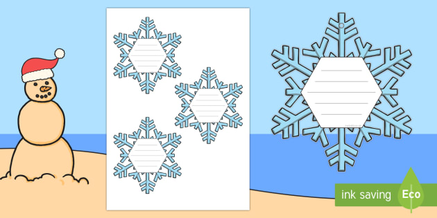 Unique Like Snowflakes Class Compliments Display Cut-Outs