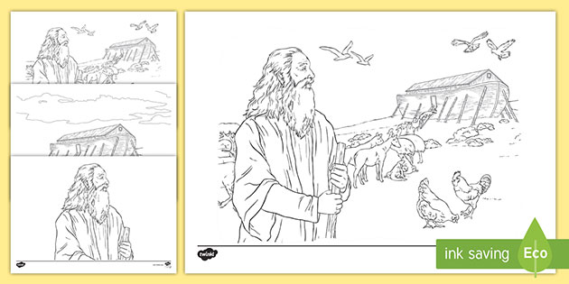 Animals Loading Noah's Ark coloring page | Free Printable Coloring ... | 315x630