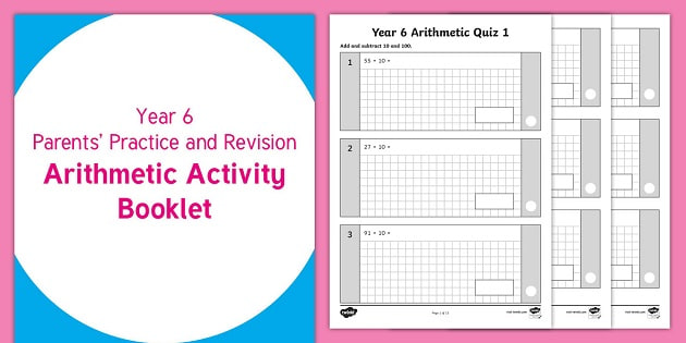 Arithmetic Revision Year 6 Sats Practice Booklet