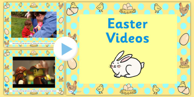 Easter Video PowerPoint - easter, easter powerpoint, easter videos, easter theme powerpoint, easter egg hunt video, easter story video, the easter story