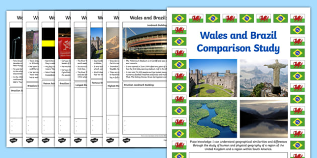 Wales and Brazil Comparison Study Research Booklet