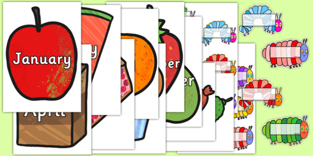 Birthday Display Pack to Support Teaching on The Very Hungry Caterpillar - the very hungry caterpillar, birthday display, birthday, classroom display, display, themed display