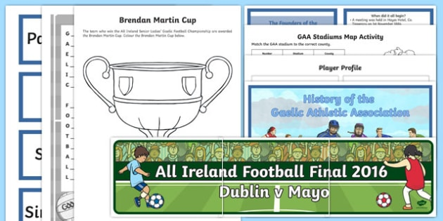 The All-Ireland G.A.A. Championship Resource Pack