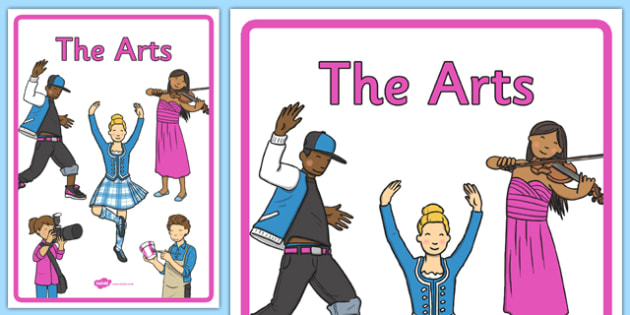 Australian Curriculum The Arts Book Cover - book cover, front page, title page, subject. Australian Curriculum, labels, the arts, drama, art