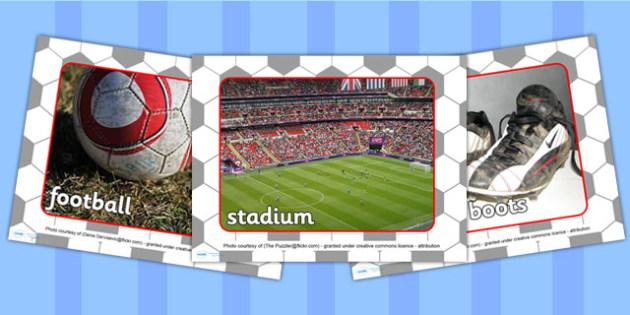 Football World Cup Display Photos PowerPoint - football, sports