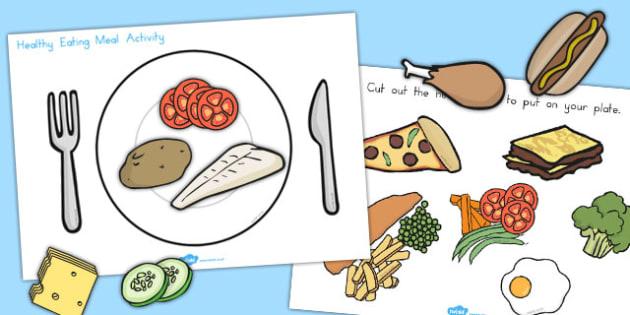 Healthy Eating Meal Activity - Healthy, Eating, Food, Vitamins