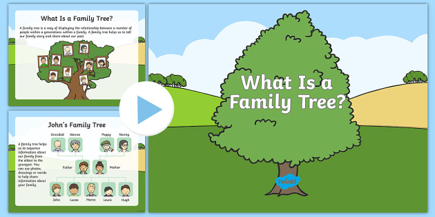 what is a family tree powerpoint australian history