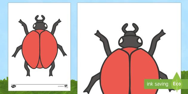 blank-ladybird-template - - blank, ladybird, template