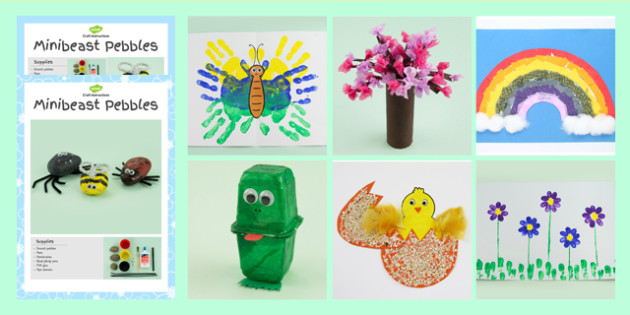 Spring Craft Activity Pack Spring Craft Activities Pack