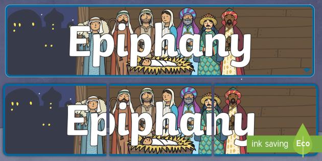 Epiphany Banner
