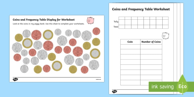 coin recognition worksheets coin counting worksheets. Black Bedroom Furniture Sets. Home Design Ideas
