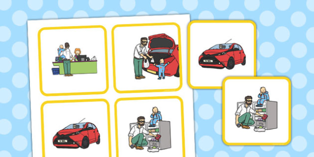 Supermarket Sequencing Cards - supermarket, sequencing, cards