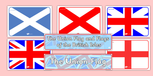 The Union Flag and Flags of the British Isles Display Pack - cfe, union flag, british isles, display, pack