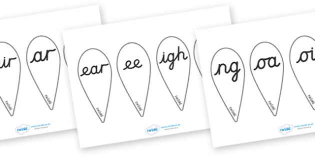 Phase 3 Letter Fans (Cursive) - Phoneme fans, Alphabet  Fans, A-Z letters, Alphabet flashcards, foundation stage literacy, letters and sounds, DfES, KS1