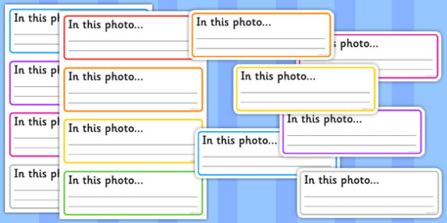Photo Display Labels - photo, display, labels, display labels