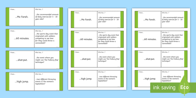 new ks2 sports day loop cards running jumping throwing race races. Black Bedroom Furniture Sets. Home Design Ideas