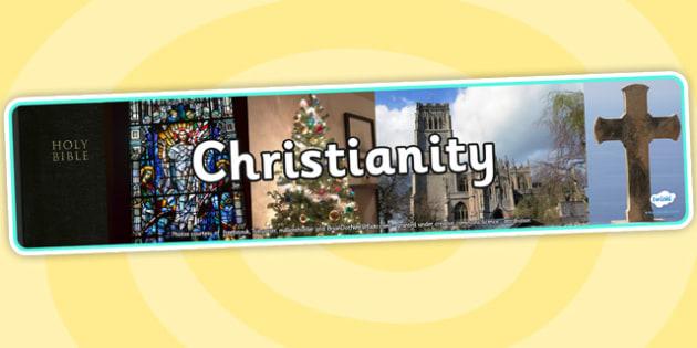 Christianity Photo Display Banner - christianity, photo display banner, photo banner, display banner, banner,  banner for display, display photo, display
