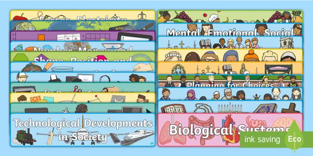CfE Display Banner Resource Pack