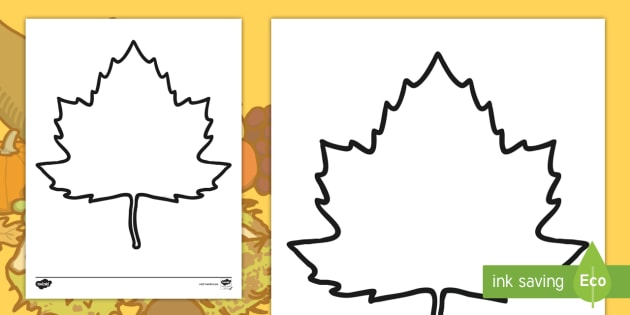 blank fall leaf template blank fall leaf template fall