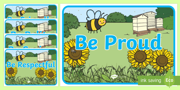Busy Bee Inspirational Display Posters