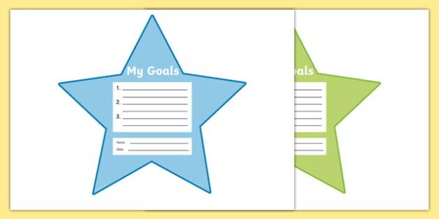 My Goals Pupil Target Stars - my goals, pupil, target, stars, achievement