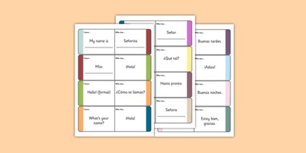 Spanish meet and greet loop cards spanish meet and greet spanish meet and greet loop cards spanish meet and greet meet greet m4hsunfo