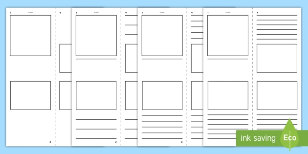 free  - printable mini book template