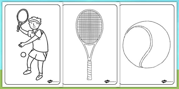 Wimbledon Colouring Sheets - wimbledon, wimbledon colouring sheets, wimbledon colouring, wimbledon resources, wimbledon champinonships, tennis, sports, PE