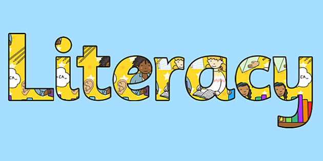 Literacy Title Display Lettering - literacy title, display, lettering