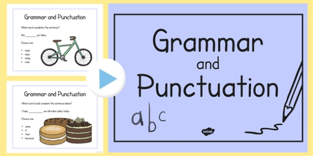Year 2 Grammar and Punctuation Challenge PowerPoint - year 2, grammar, punctuation, challenge, powerpoint
