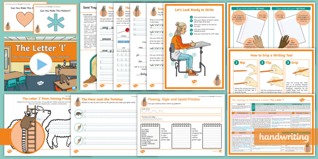 Lower ks2 years 3 and 4 writing handwriting the journey to continuous cursive the letter l ladder family help card 1 ks2 activity pack fandeluxe Images