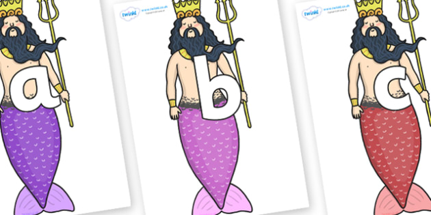 Phoneme Set on Sea King - Phoneme set, phonemes, phoneme, Letters and Sounds, DfES, display, Phase 1, Phase 2, Phase 3, Phase 5, Foundation, Literacy