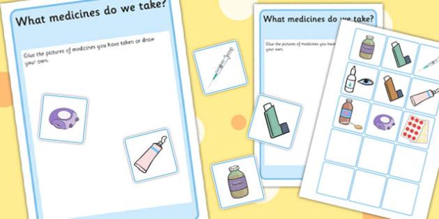 What Medicines Do We Take - medicine, illness, sickness, ill