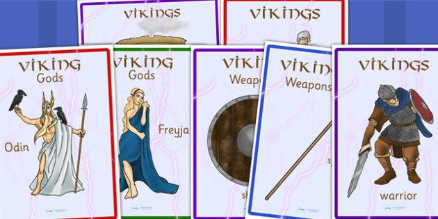 Vikings Display Posters - viking, poster, display poster, history