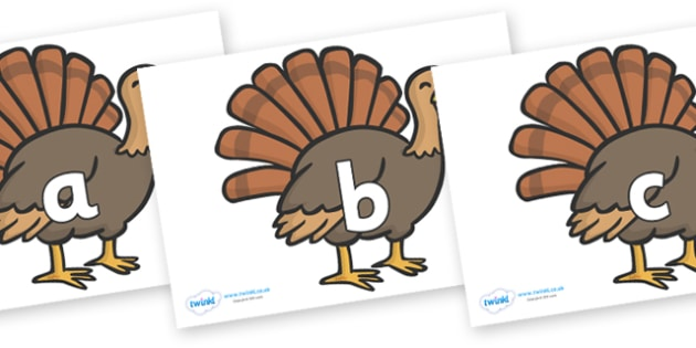 Phase 2 Phonemes on Turkeys - Phonemes, phoneme, Phase 2, Phase two, Foundation, Literacy, Letters and Sounds, DfES, display