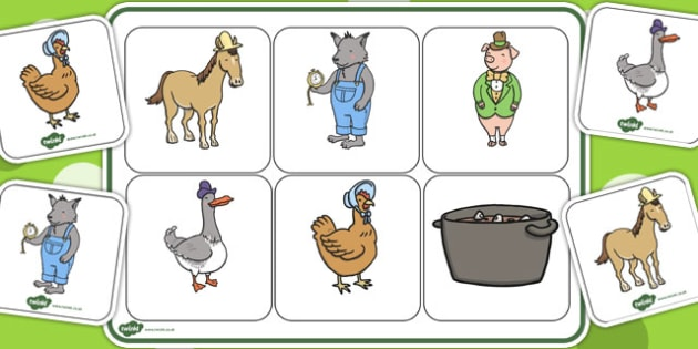 Matching Mat SEN to Support Teaching on What's The Time, Mr Wolf? - Activity, Activities