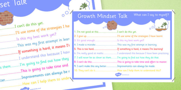 Fixed Mindset vs Growth Mindset - Fixed, Growth, PSHE, mindset, comparison, independent work