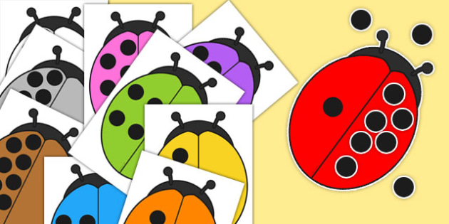 Give the Ladybirds 10 Spots Number Bond Activity - activities