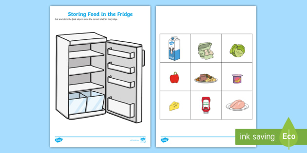 It is a graphic of Food Safety Printable Worksheets throughout kindergarten
