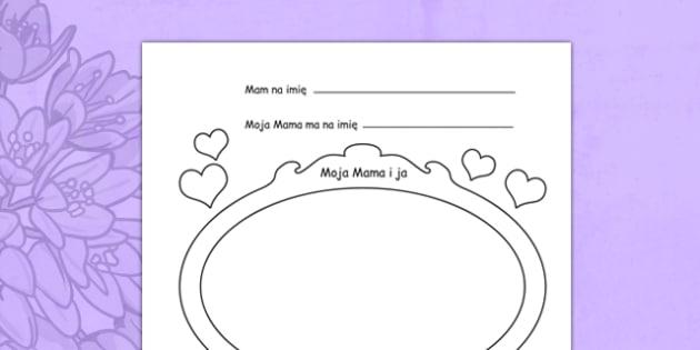 Karta pracy Dzień Matki