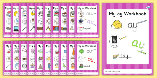 Phase 5 Grapheme Workbook Resource Pack - graphemes, phase five