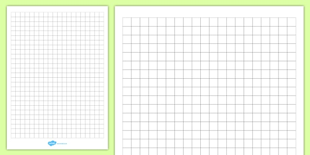 Squared Paper 1cm Editable - Grid Paper for Maths & Geometry