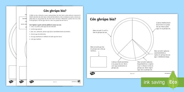 Finding The Food Group Worksheet Activity Sheet Gaeilge Food Groups Food Healthy