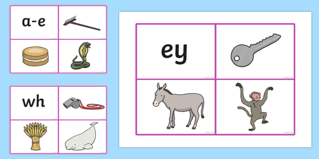 Phase 5 Phoneme And Picture Matching Cards - Phase 5, Phoneme, phonemes, phoneme and picture, pictures, matching, matching cards, cards, flashcards, activity, phase five, five, phase