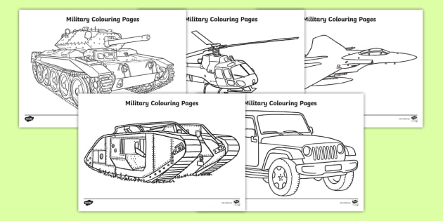 Military Coloring Pages - coloring poster, coloring, fine ...