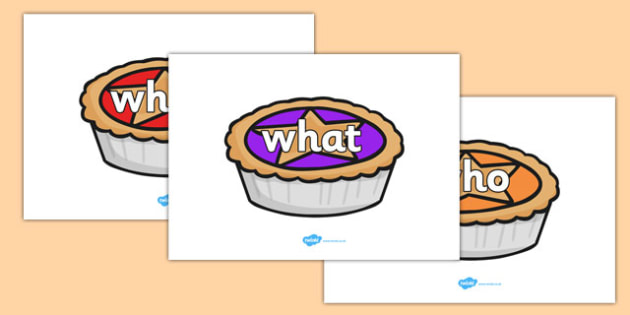 KS1 Keywords on Jam Tarts - KS1, CLL, Communication language and literacy, Display, Key words, high frequency words, foundation stage literacy, DfES Letters and Sounds, Letters and Sounds, spelling