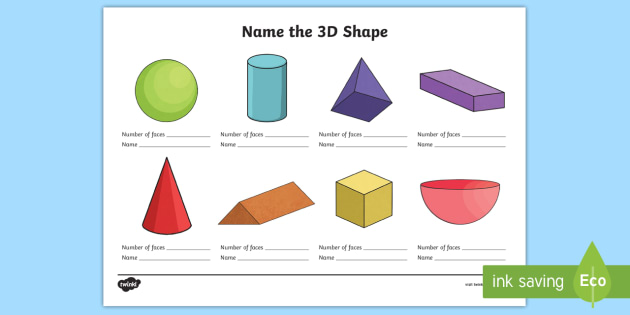 name the 3d shape year 3 worksheet worksheet 3d shape year 3. Black Bedroom Furniture Sets. Home Design Ideas