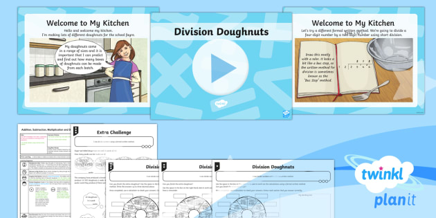 PlanIt Maths Y6 Addition, Subtraction, Multiplication and Division Lesson Pack Order of Operations (4) - Addition, Subtraction, Multiplication and Division, division, divisor, dividend, shared by, lots of,